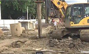 泰信机械KR80A旋挖钻机施工案例