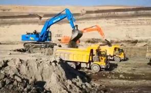 十田重工GC518H-9挖掘机施工案例