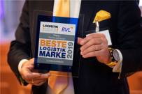 """永恒力再次荣获""""Beste Logistik Marke"""" (最佳物流品牌)奖"""