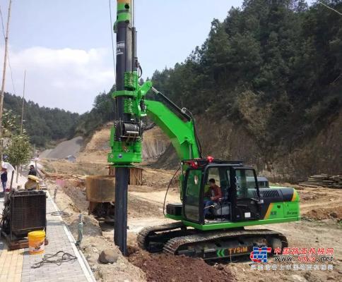 泰信:2019小型旋挖钻机的发展之路