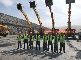 低油耗 高效率!山东十田重工挖掘机用实力赢得矿山客户信赖