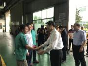 泉州市委书记康涛、市长王永礼一行到晋工机械慰问调研