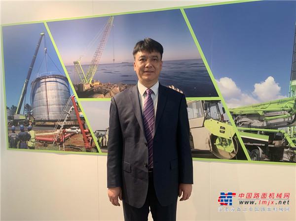 中联重科罗凯:坚持差异化运营策略 扩大高端市场份额