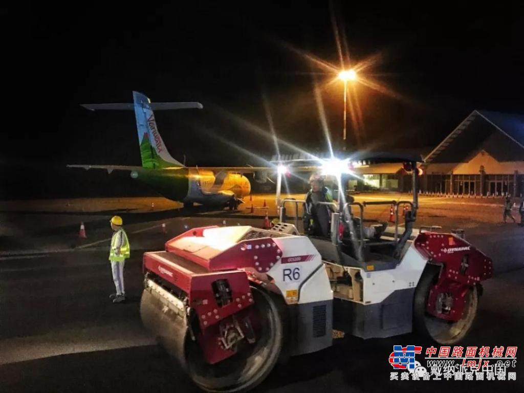星耀西南太平洋 | 戴纳派克设备领衔瓦努阿图、印尼国际机场建设工程