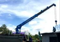 徐工定制化随车起重机助力泰国园林建设项目