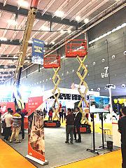 JLG(捷尔杰)携两款嗡主流高空作业平台产品亮相ξ2019长沙展