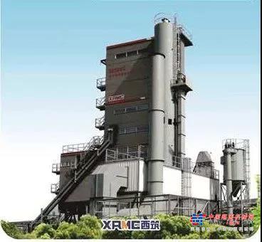 西筑SG5000X环保智能搅拌设备助力祖国北部疆域高速公路建设