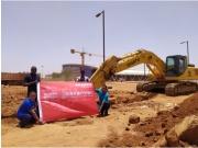 山推成套设备参与尼日尔市政项目建设