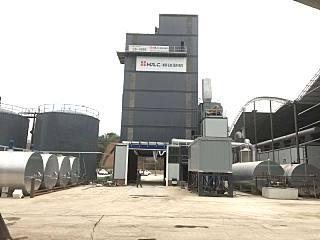 无锡恒达路机4000型环保沥青站在河南洛阳顺利投产
