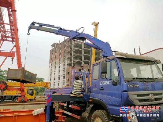 徐工随车起重机助力孟加拉BRT项目