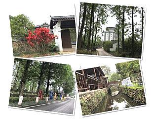 玛连尼:亭台、溪水一幅画,碧草、红花一片春