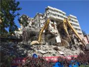 公安部第一研究所老住宅楼实现绿色整体拆除