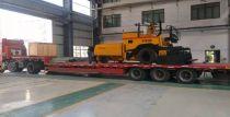 西筑LTD600轮式摊铺机服务山东道路建设