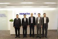 中国工程机械工业协会祁俊会长一行到访小松中国