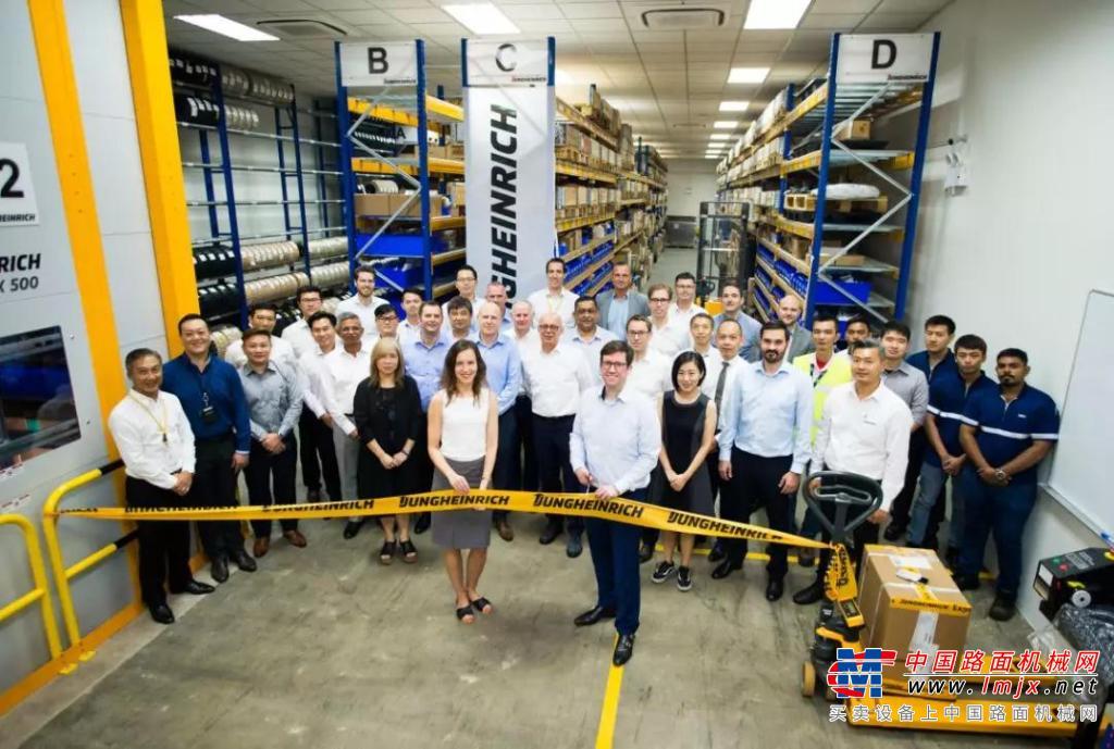 永恒力集团在新加坡开设零备件中心