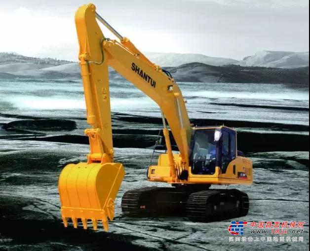 SE210W挖掘机 | 山推品质 省油利器