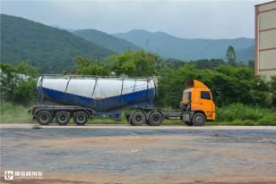 黄色粉罐车成梅州货运市场一景,这家散装水泥运输公司为何只用华菱车?
