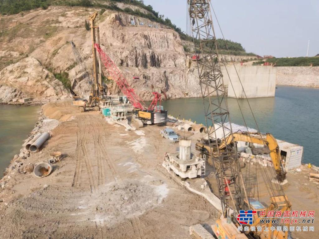 徐州盾安全回转钻机推动华南湾区建设发展(三)——珠海深中通道沉管预制厂改造项目