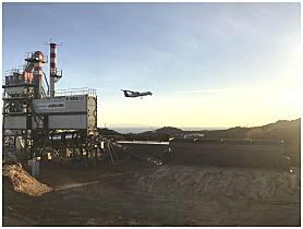 安迈搅拌站助力希腊机场改造项目