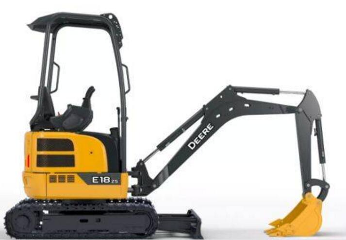 约翰迪尔E18zs 微挖:小身材 大作为
