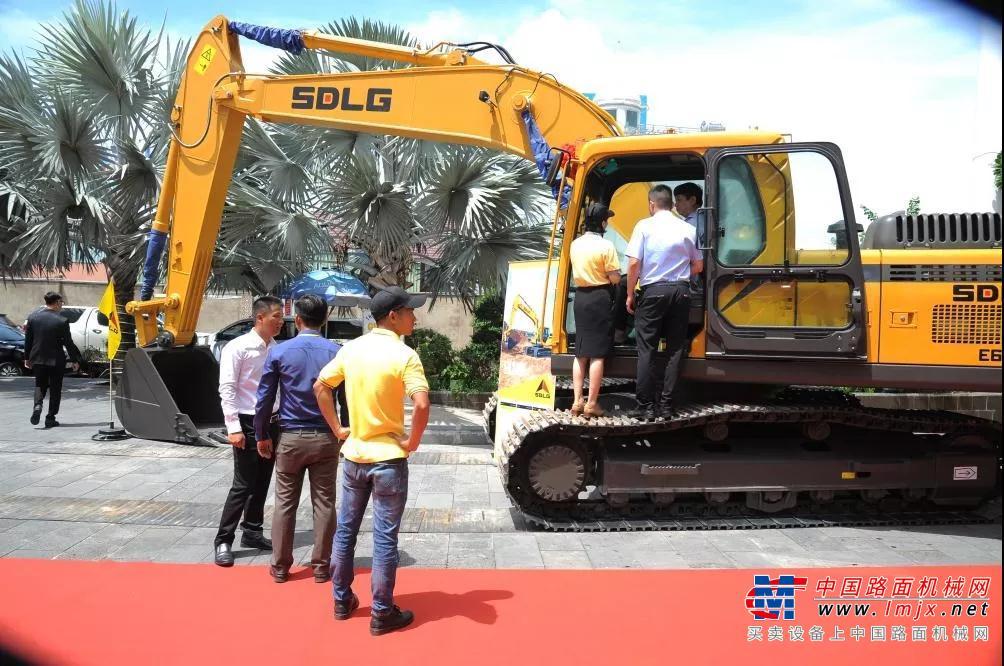 山东临工越南南部市场产品推介会圆满成功