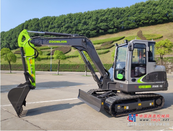 金牌产品丨中联重科建设精灵ZE60E-10挖掘机来袭 国产6吨小挖再添新锐
