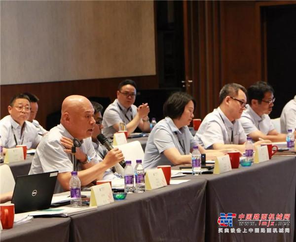 神钢建机(中国) 第五届代销商高层论坛的召开