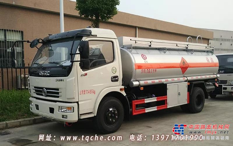 厦工楚胜:东风多利卡D7加油车 安全达标车型