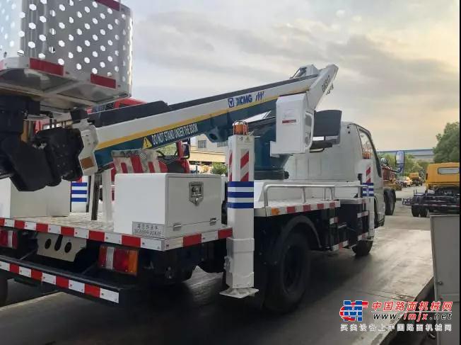 实力官宣 | 徐工集团17.3米蓝牌高空作业车,你,值得拥有!