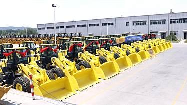 山工机械喜签大单,首批70台装载机发运科威特!