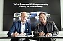 沃尔沃集团携手英伟达,合作开发适用于自动驾驶卡车的高级AI平台