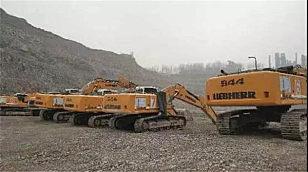 7台利勃海尔R 944C助力山东莱钢集团