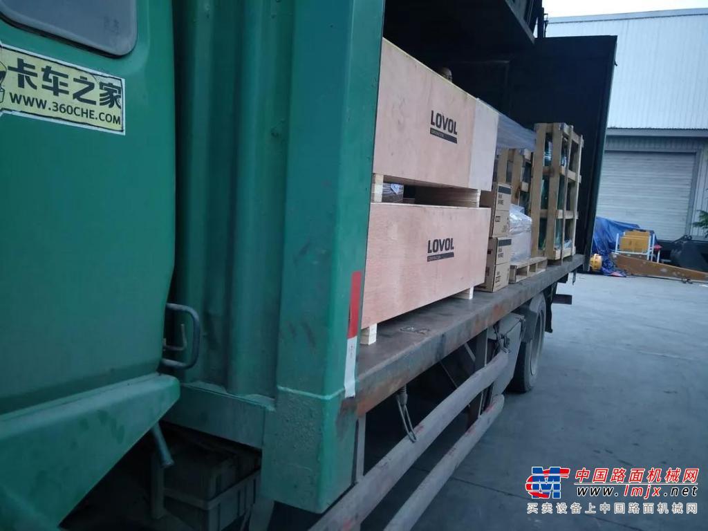 雷沃工程机械配件物流再升级