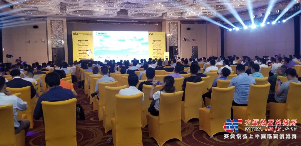 聚焦行业  发展热点  第八届IPAF亚洲峰会暨产品展示会在杭州召开
