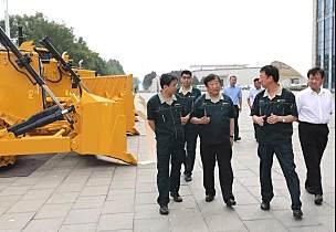 谭旭光:山推是济宁市制造业的一个符号,必须争创第一