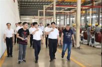 福建省委军民融合办常务副主任林杰调研组一行莅临晋工机械调研