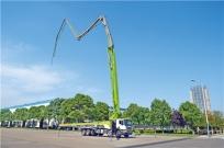 现场实测泵送速度 中联重科4.0系列泵车高精高效获赞