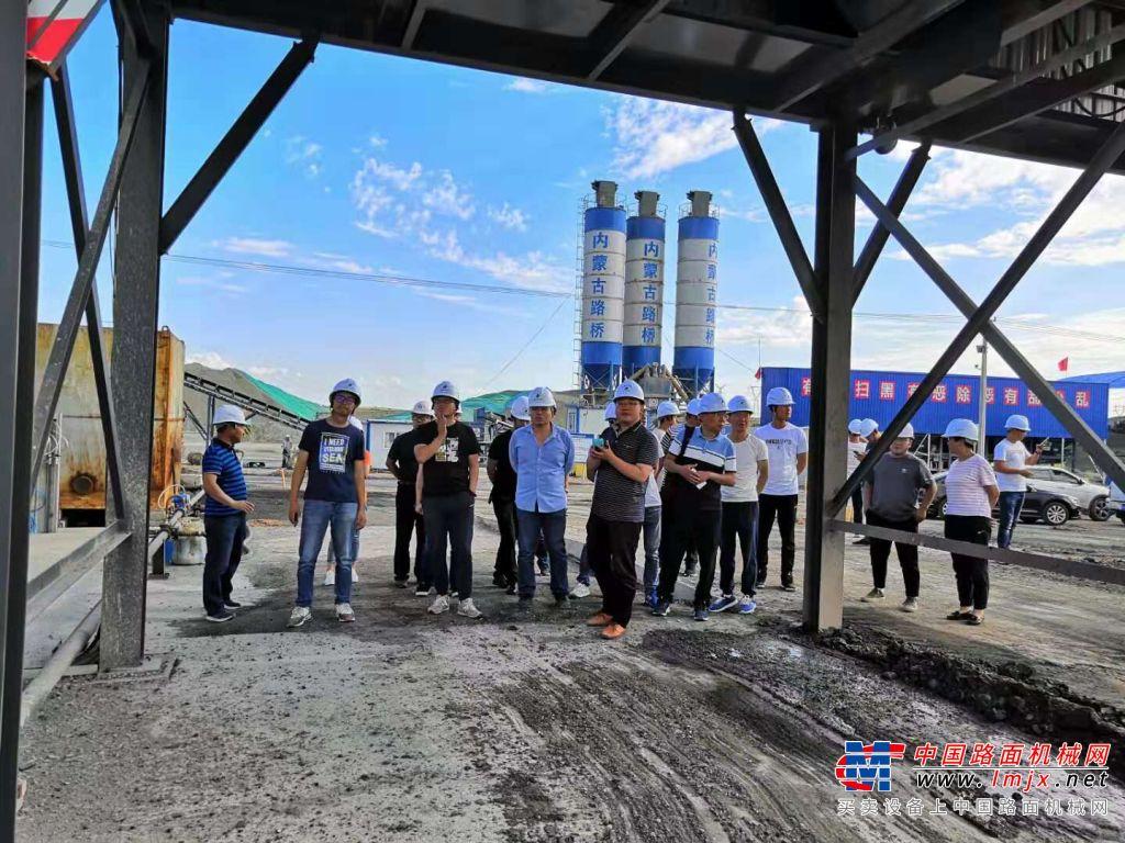 镇江路机沥青冷再生设备助力包茂高速公路内蒙古段大修