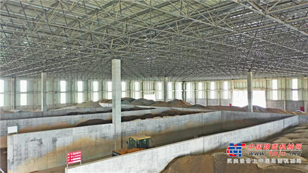 南方路机制砂干混整体解决方案应用于嵊州市路通水泥制品有限公司