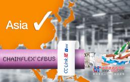 通过CC-Link IE Field认证的igus易格斯高柔性以太网电缆,适用于拖链运动
