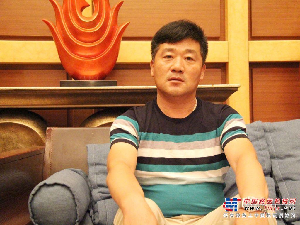 枣庄舜扬建设有限公司总经理任鹏:全力打造精品优质工程!
