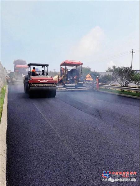 戴纳派克车队快马加鞭驰援107国道房山段大修工程