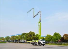 中联重科4.0泵车又添38米新锐 小身材大能量助力城镇化建设