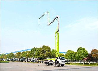 中聯重科4.0泵車又添38米新銳 小身材大能量助力城鎮化建設