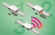 igus智能传感器可跟踪直线滑动轴承滑动膜的磨损程度,以提高可靠性