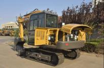 雷沃FR75E挖掘机 领先技术 更低油耗