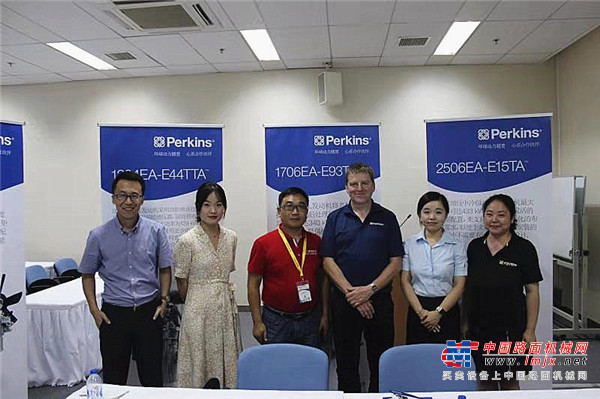 Perkins李骜华:为非道路国四排放准备全系列发动机配套解决方案