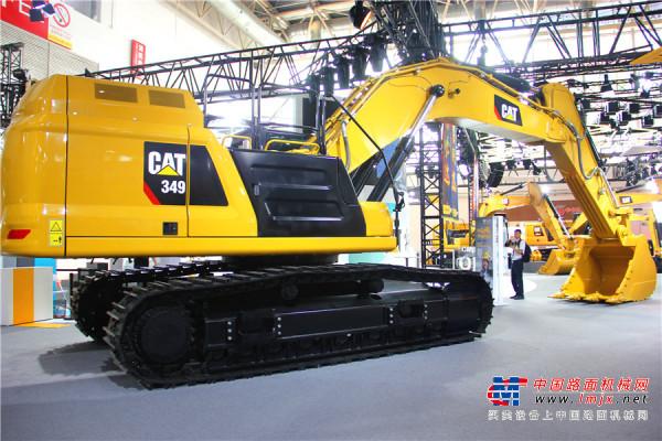 矿山利器:卡特彼勒新一代CAT®349大型挖掘机