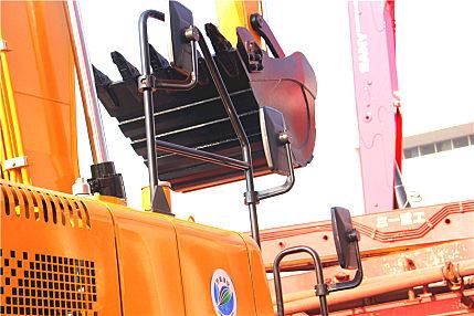 三一SY155W轮式挖掘机高清图集