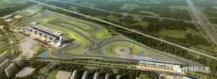 天顺长城摊铺机助株洲国际赛车场打造高品质工程